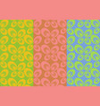 retro colorful seamless pattern simple ornament vector image vector image