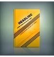 Tire Brochure 02 B vector image vector image
