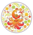 Traditional russian pattern vector image vector image
