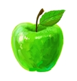 picture of apple vector image