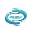 abstract - logo template concept vector image