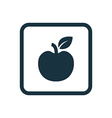 apple icon Rounded squares button vector image vector image