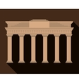 Brandenburg Gate Germany graphic vector image