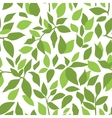color leaves pattern vector image vector image