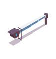 jet bridge isometric 3d concept good vector image