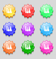 laboratory glass chemistry icon sign symbol on vector image