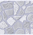 pattern with pieceis of paper vector image