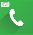 phone icon business concept phone pictogram on vector image