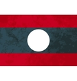 True proportions Laos flag with texture vector image vector image