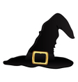 witch hat for halloween vector image vector image