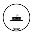 Butter icon vector image vector image