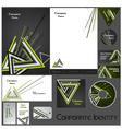 Corporate identity template no 17 2 vector image