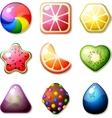 Fruit Candies vector image vector image