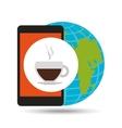 global break social network vector image vector image