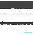pieces torn black gray and white paper with vector image