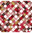 seamless tartan pattern checkered colorful pnk vector image