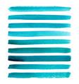 set watercolor stripes vector image vector image