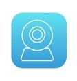 Web camera line icon vector image vector image