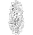 you can t see your own eyes text word cloud vector image vector image