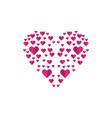valentine symbol vector image
