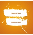 Water paint banner vector image