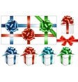 bow-set vector image