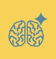 brain stroke vector image vector image