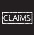 claims text vector image