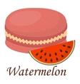 Macaroon cake vector image vector image