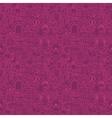 Purple Line Wedding Seamless Pattern vector image
