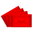 Red love letters vector | Price: 1 Credit (USD $1)
