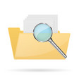 browse folder icon vector image