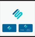 business logo modern vector image