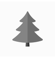 Christmas tree sign vector image