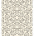 diamond seamless kaleido beige vector image vector image