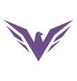eagle abstract logo design icon vector image vector image
