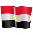 flag of Egypt vector image vector image