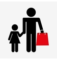great shopping day vector image