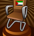 palestine candidate for the seat on UNESCO vector image