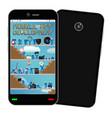 smartphone mobile app development vector image