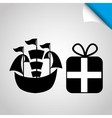 toys gift design vector image vector image