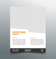Business poster template - simple clean design vector image vector image