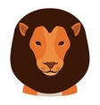 cartoon lion icon vector image