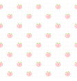 cute peach seamless pattern background vector image vector image