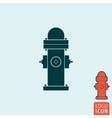 Fire hydrant icon isolated vector image vector image