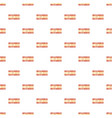 first class pattern seamless vector image vector image