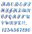 Font banner vector image vector image