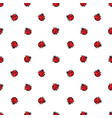 ladybird seamless pattern background design of vector image vector image