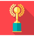 Trophy icons Winner cup vector image