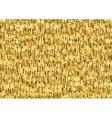 Gold glitter luxury texture Seamless pattern vector image
